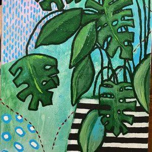 Happy-Plant-Cinde-Rosser-Artist